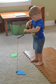 Structured Play: Fishing!