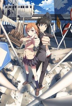 To aru majutsu no index (not accelerator but from the same anime/light novel/manga)