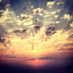 Sunset from Zia, Kos island ,Greece