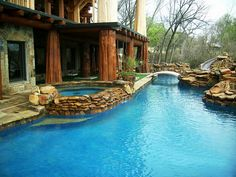 Freeform swimming pool thought starter, wish this was yours?