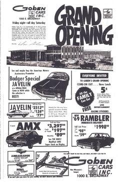 American Motors news ad