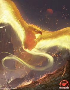 The Phoenix, Josh Corpuz on ArtStation at http://www.artstation.com/artwork/the-phoenix-1a8feec8-2d02-4f20-a2f6-f486f24f9366