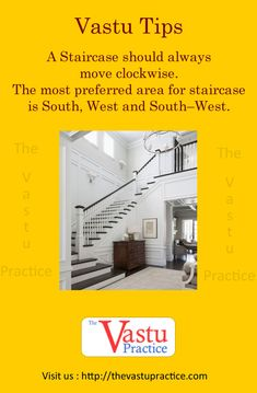 Vastu Tips For Staircase and Vastu For Staircase Direction. A Staircase should always move clockwise. Vastu Tips For Staircase and Vastu For Staircase Direction. A Staircase should always move clockwise. Feng Shui And Vastu, Feng Shui Tips, Inexpensive Home Decor, Unique Home Decor, Indian House Plans, Vastu Shastra, Direction, Architecture Plan, Classic House