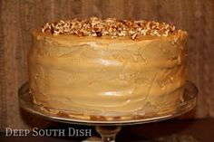 Deep South Dish: Southern Caramel Cake - A Tribute to The Help Movie