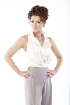 Rebecca Wisocky as Evelyn Powell ~ Devious Maids (2013) ~ Season 1 Cast ~ Publicity Photos #amusementphile