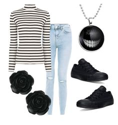 """""""We're All Mad Here"""" by ares-and-aphrodite on Polyvore featuring Oasis, Converse and Dollydagger"""