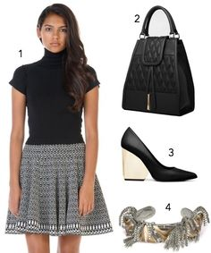 Day and Night: Something to wear to work during the day, looking good, and looking professional. And in the same dress, go out to dinner after work with your boyfriend still looking fabulous. The Day and Night Combo is it! During The Day, Your Boyfriend, Work Wear, Going Out, What To Wear, That Look, Dinner, Night, Womens Fashion