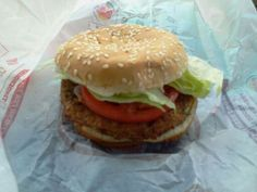 11 Point Burger King Veggie Burger