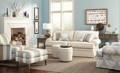 Craftmaster Furniture Essentials Comfortable seating with beautiful fabrics. www.cmfurniture.com