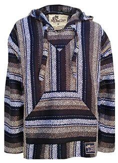 Baja Hoodie Mexican Poncho Pullover - Tan Brown Black Diamond Pattern (Small) No Bad Days http://www.amazon.com/dp/B00OEFOIBY/ref=cm_sw_r_pi_dp_M6dyub0KXGDZ1