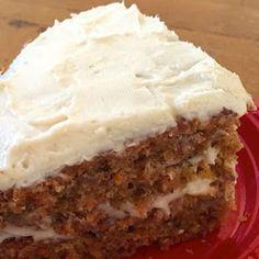 Gluten Free and Vegan Carrot Cake.