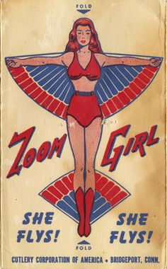 oneinch: (via Neato Coolville: WHO IS ZOOM GIRL?)