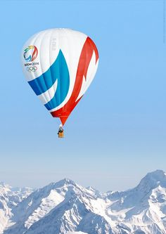 Sochi Winter Olympics balloon I believe in you Sochi! Thank you for a beautiful and entertaining opening night show! Wow!
