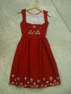 Amazing Womens Vintage Dirndl Dress VGC   eBay