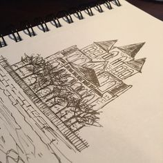 Köln - ink drawing