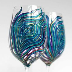 One glassware design more from this artist - she's amazing and oh, so talented