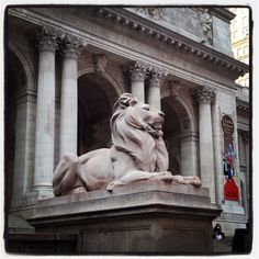 New York Public Library-Patience