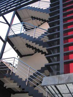 External staircase in Tokyo