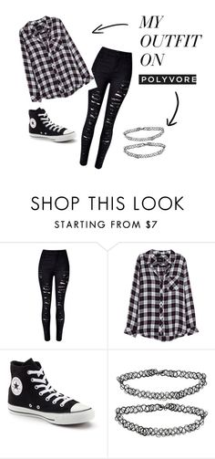 """Train Ride to Hogwarts"" by alixrios on Polyvore featuring Rails, Converse and Monki"