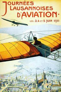 Vintage Venus: Vintage Aviator Airshow Poster
