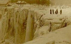 Niagara Falls completely frozen 1911, http://www.snopes.com/photos/natural/niagarafalls.asp#
