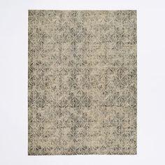 $1049 (9x12),  Fans Printed Wool Rug | west elm
