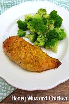 Baked Honey Mustard Chicken with only 5 ingredients from 5DollarDinners.com