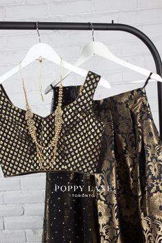 Black Swan Blouses x Black Opulence Skirts by Poppy Lane Toronto