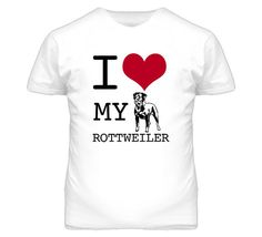 Hey, I found this really awesome Etsy listing at https://www.etsy.com/listing/189047981/i-love-my-rottweiler-dog-t-shirt