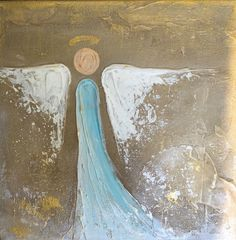 """Artist: Lori Mitchell Dimensions: 4""""x4"""", 4""""x6"""", or 5""""x5"""" Custom Figure Medium: Acrylic Surface: Gallery wrapped canvas This piece is custom made by Lori Mitchell so please allow 2-3 weeks to ship. **4"""
