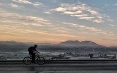 Lone biker by Gabriel Flores Romero on flickr - Tijuana, Baja California Sur, Mexico