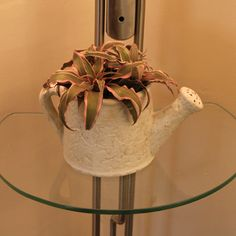Fiber White Planter - Buy Online House Warming Gifts.