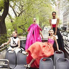 Hanne Gaby Odiele, Xiao Wen Ju + More Prep for Met Gala in Vogue Instagram Shoot
