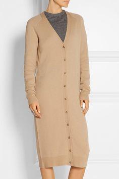 T by Alexander Wang|Wool and cashmere-blend cardigan|NET-A-PORTER.COM