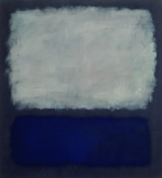 Mark Rothko Blue and Grey , 1962 Oil on canvas