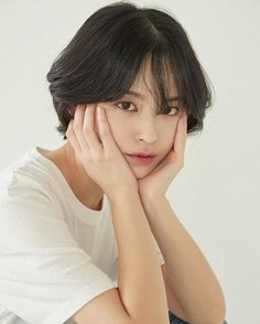 Updated 40 Tomboy hairstyles, cut and . Asian Short Hair, Girl Short Hair, Short Girls, Short Hair Cuts, Short Hair Korean Style, Tomboy Hairstyles, Cute Hairstyles, Shot Hair Styles, Curly Hair Styles