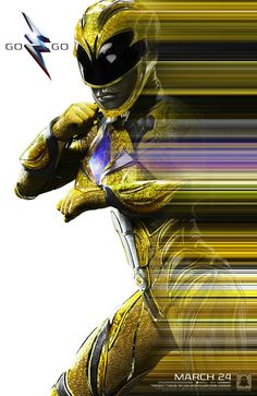 Power Rangers (2016) NYCC Poster - Yellow Ranger