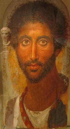 A Man, er Rubayat, ca AD 170 (Berlin, Neues Museum, 31161,3)