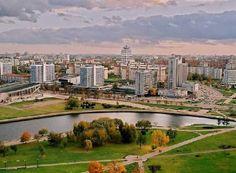 Minsk im Weißrussland Reiseführer http://www.abenteurer.net/3386-weissrussland-reisefuehrer/