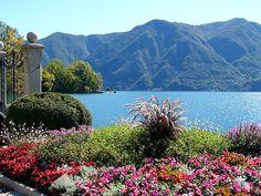 Lake Lugano, Switzerland/Italy