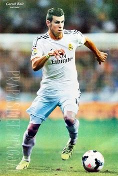 """J-4694 Real Madrid 2014 """" Gareth Bale"""" - Football , Soccer, Sport Collections,decorative Poster Print Vintage... $8.99"""