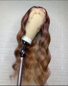 Baddie Hairstyles, Weave Hairstyles, Curly Hair Styles, Natural Hair Styles, Hype Hair, Hair Color Streaks, Birthday Hair, Hair Flip, Aesthetic Hair