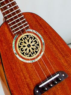 Pineapple concert ukulele built from Hana Lima 'Ia plans