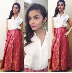 Indo western dresses for girls are a trending Outfit among girls and women. Adore the best indo western dresses for girls and ladies with us. Indian Gowns, Indian Attire, Indian Wear, Indian Skirt, Dress Indian Style, Indian Wedding Outfits, Indian Outfits, Indian Designer Outfits, Designer Dresses