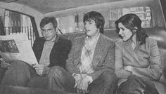 Those 3 dorks in a car Harrison Ford, Mark Hamill, Carrie Fisher