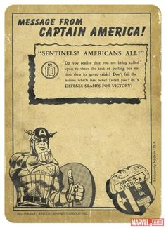 The back of Captain America trading card #10 from the Marvel Cinematic Universe | Marvel.com