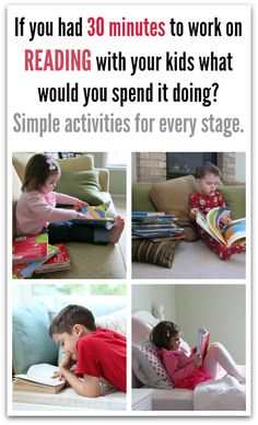 Ways parents can help their childlearn to read. Advice for every stage.