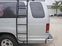 Aluminess - Ford Van Off Road Ladder