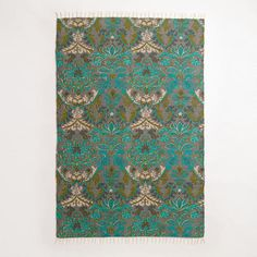 One of my favorite discoveries at WorldMarket.com: 4' x 6' Scottish Mist Printed Jute Rug