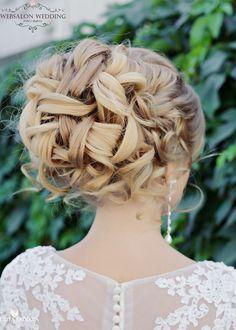 Elegant wedding hairstyles; Featured Websalon Weddings